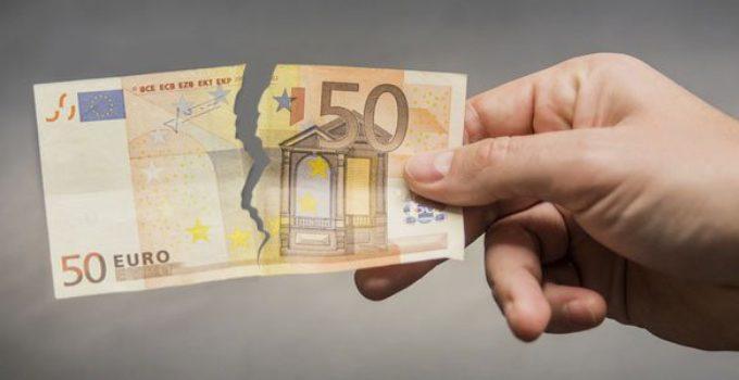 Billet de Banque Déchiré: la Règle des 50%